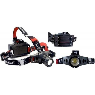 LED čelovka 5W ZT-6522 3xAA