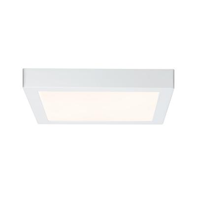 LED stropní svítidlo Lunar 17W hranaté matná bílá