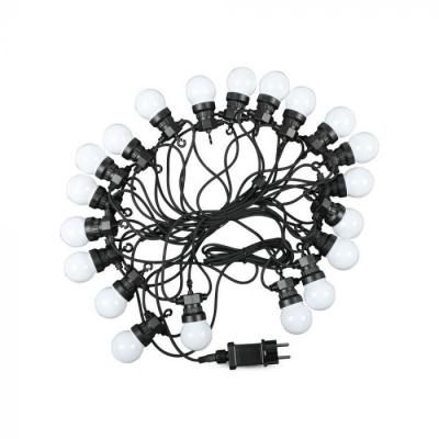 LED řetěz VT-71020 20x0,5W délka 10m