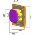 Pohybový spínač/vypínač trojvodičový