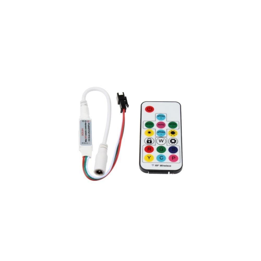 LED ovladač WIFI DG17 digitálních LED pásků