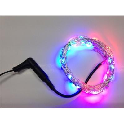 Dekorační řetěz RGB 5 metrů