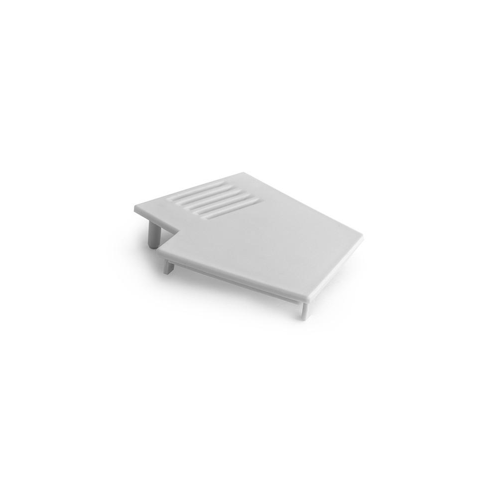 Koncovka profilu Kluś IMET PVC levá