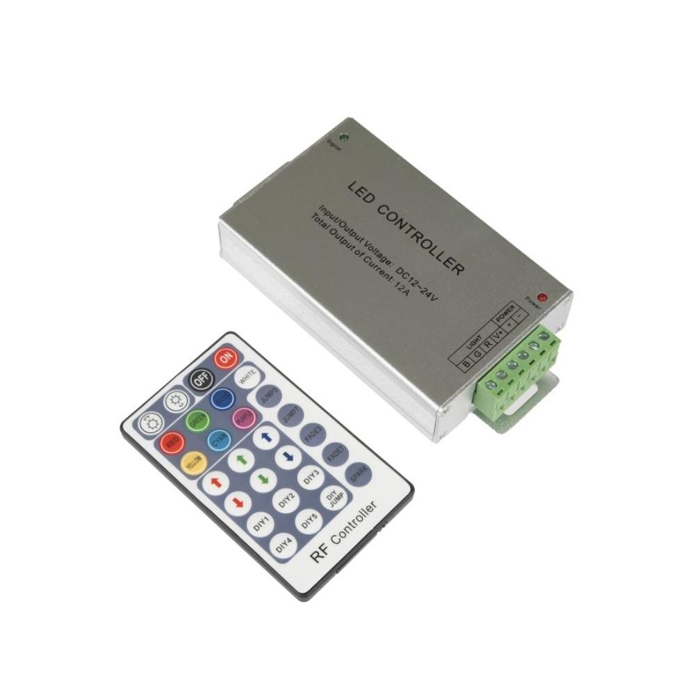 SET ovládače a přijímače RGB-RF6-28B