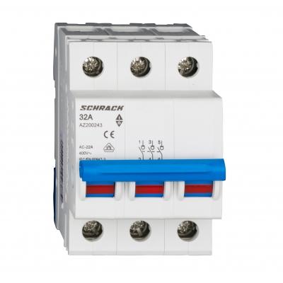 Vypínač AMPARO 32A, 3-pólový