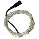 Dekorační řetěz teplá bílá 10 metrů
