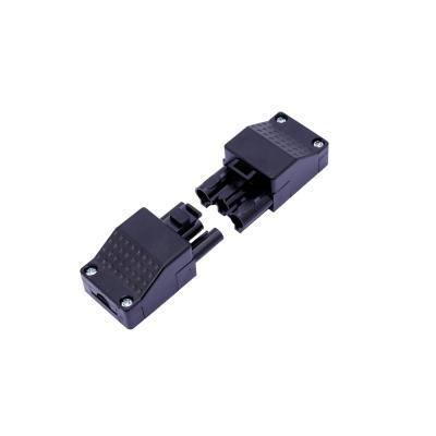 3 kolíkový konektor 898 IP20 16A Plug and Play