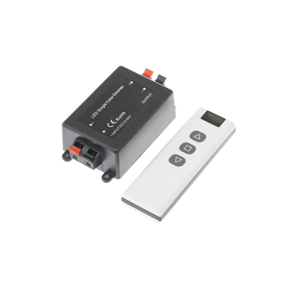 LED ovladač/stmívač RF12 8A s jedním ovládačem