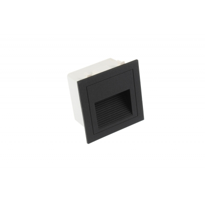 LED schodišťové svítidlo LOPEN 3W IP65 230V černé