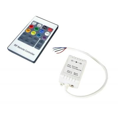 LED RGB RF kartový dálkový ovládač 20 tlačítek