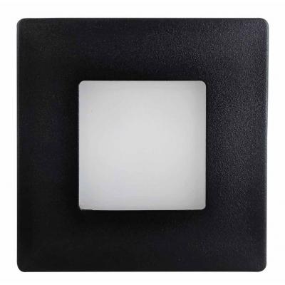 LED vestavné svítidlo DECENTLY IP44 1,7W 240W do KU68 černá