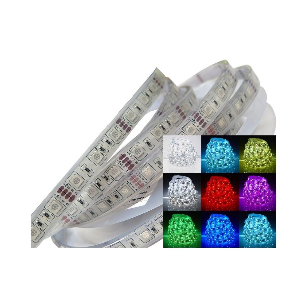 LEDme Led pásek RGB vodotěsný 12V 14.5W/m IP68 1m