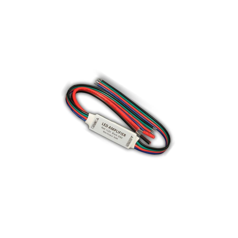 LED RGB mini zesilovač signálu