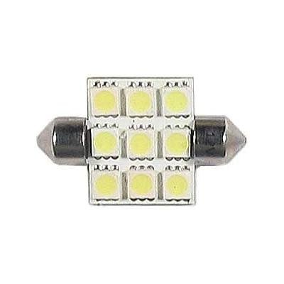 LED auto žárovka SV8.5-8 12V 2,5W 39mm sufit