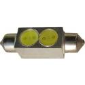 LED auto žárovka SV8.5-8 12V 2W 39mm sufit COB