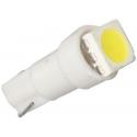 LED auto žárovka T5 12V 0,3W bílá