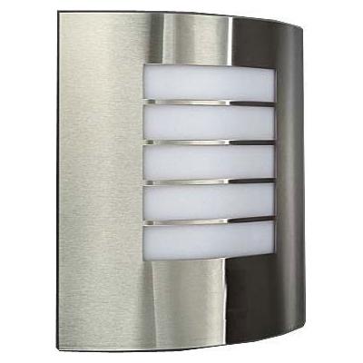 Nástěnné svítidlo nerezové E27 60W