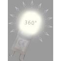 LED žárovka LEDme DIFFY 3W G9 CRI80 studená bílá