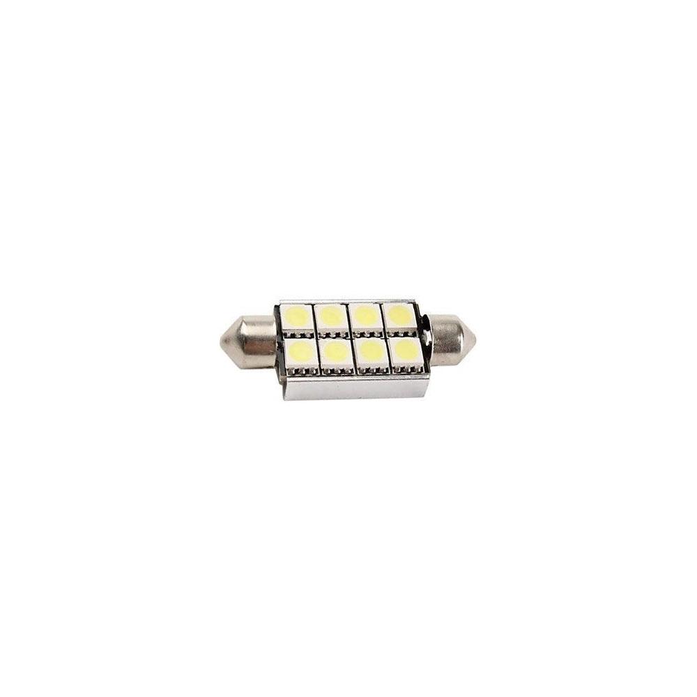 Led auto žárovka SV8.5-8 10-14V 3.5W sufit studená bílá