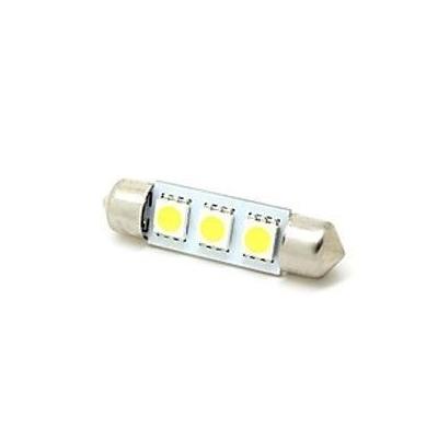 Led auto žárovka SV8.5-8 12V 1.3W 36mm sufit