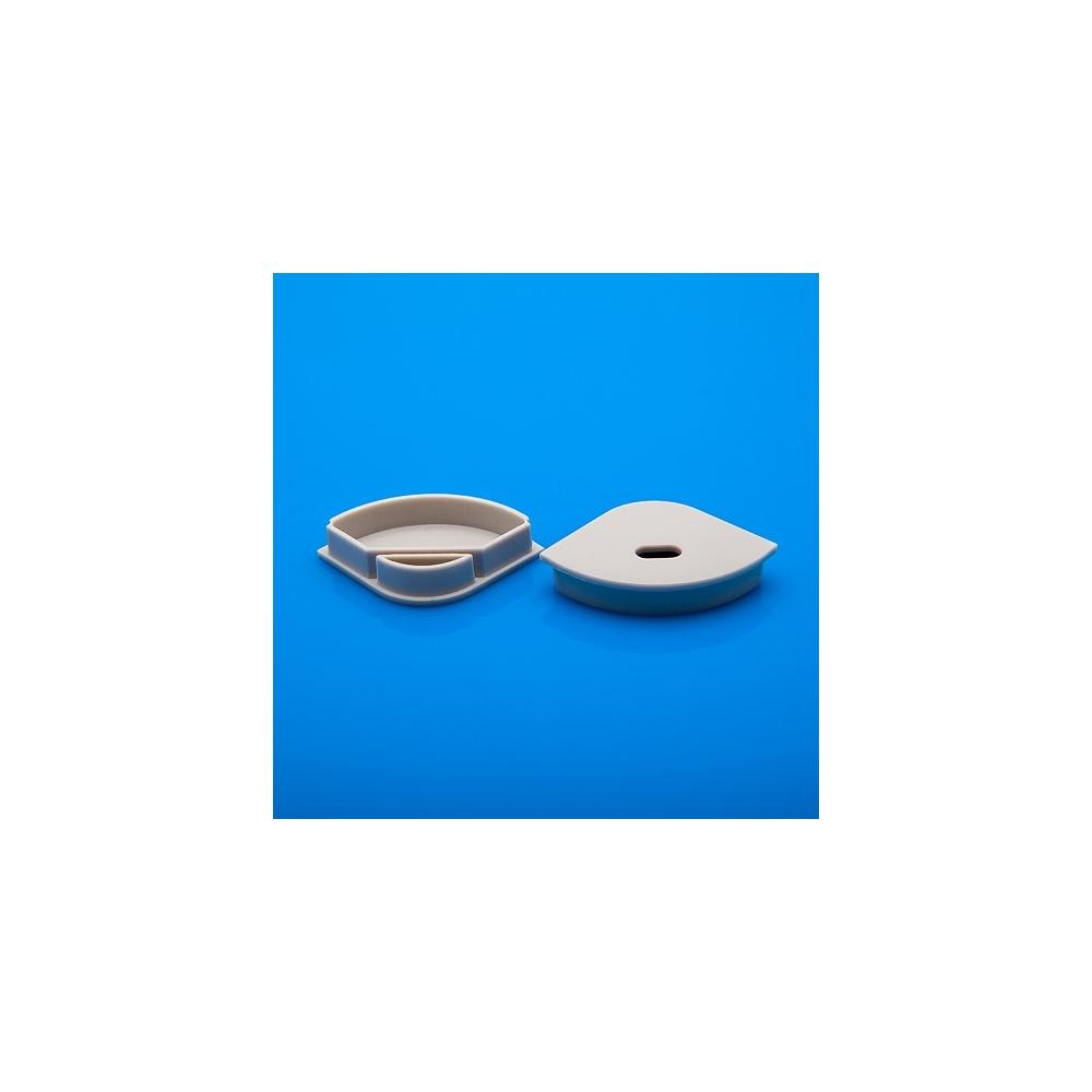 Koncovka profilu rohový/závěsný  C30