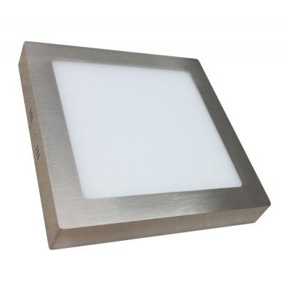 LED stropní svítidlo SQUARE 24W Matt Chrome