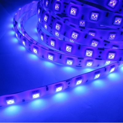 LED pásek Ultrafialový UV 14,4W/m IP20 1m