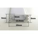 Nástěnný LED profil N2 MASIV