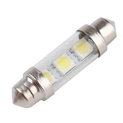 LED auto žárovka SV8.5-8 12V 1.5W 36mm sufit sklo