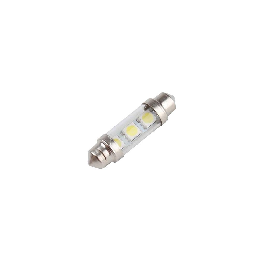 LED auto žárovka SV8.5-8 12V 1.3W 36mm sufit sklo