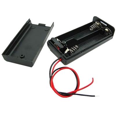 Držák na 2xAA baterie s vypínačem