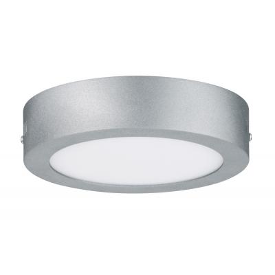 LED kulaté stropní svítidlo Lunar 11W stříbrné