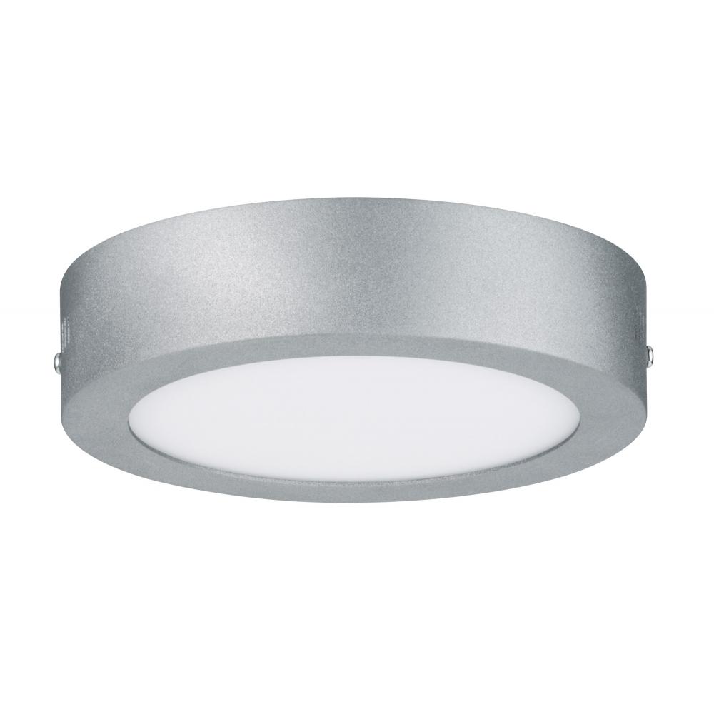 LED stropní svítidlo Lunar 11W kulaté matný chrom