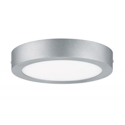 LED stropní svítidlo Lunar 15,5W kulaté matný chrom