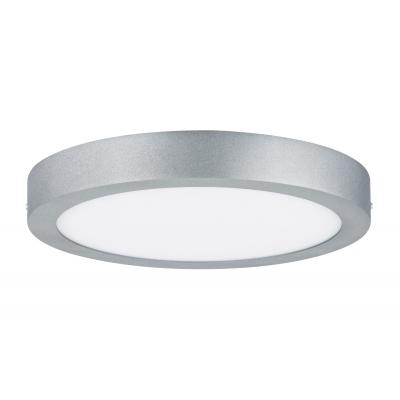 LED stropní svítidlo Lunar 17W kulaté matný chrom