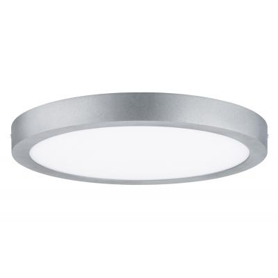 LED stropní svítidlo Lunar 22W kulaté matný chrom