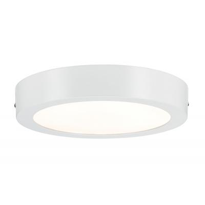 LED stropní svítidlo Lunar 17W kulaté matná bílá