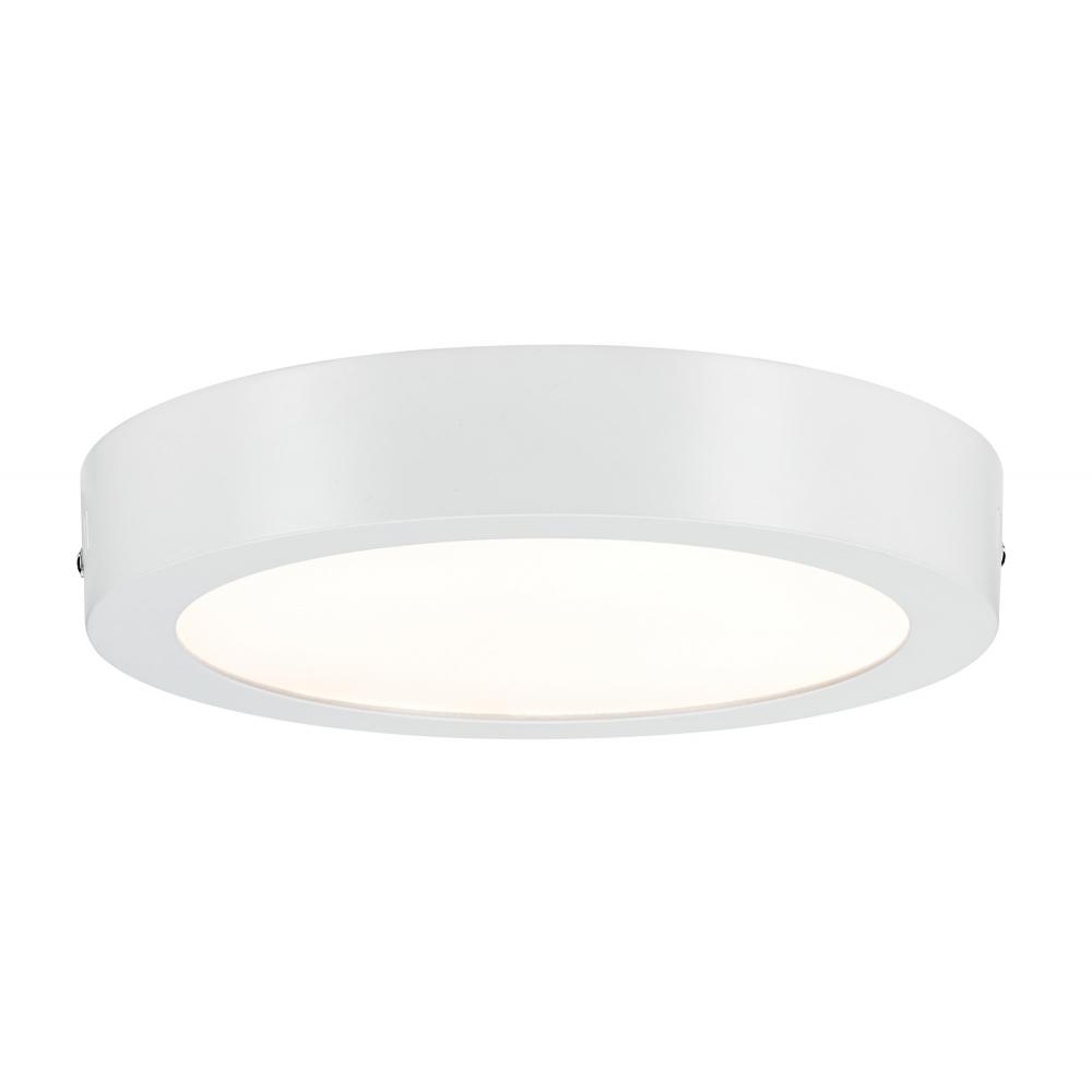 LED svítidlo stropní Lunar bílé 17W kulaté teplá bílá