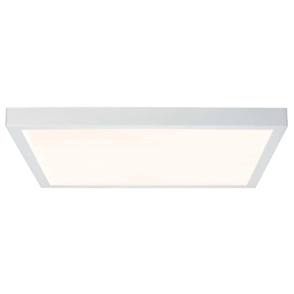LED svítidlo stropní Lunar bílé 27,4W  teplá bílá