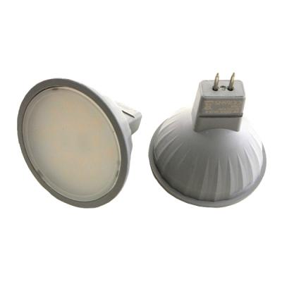 LED žárovka 3,5W MR16 12V denní bílá