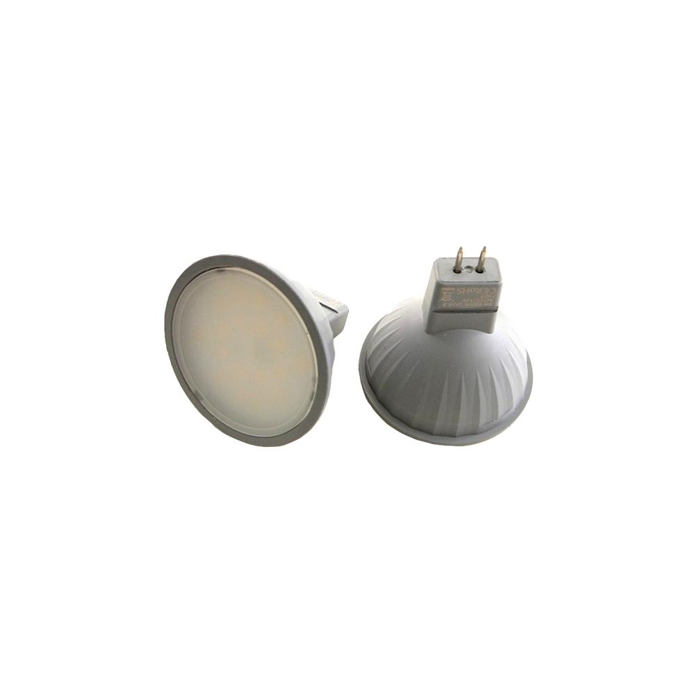 LED žárovka 3W MR16 12V denní bílá