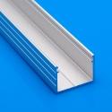 Nástěnný hliníkový LED profil Surface