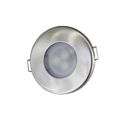 LED podhledové svítidlo 3W nevýklopné IP44 12V teplá bílá