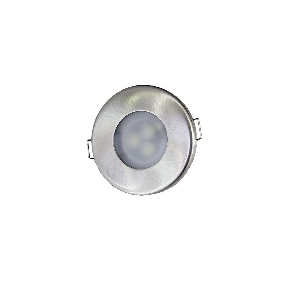 LED podhledové svítidlo 5W nevýklopné IP44 240V studená bílá