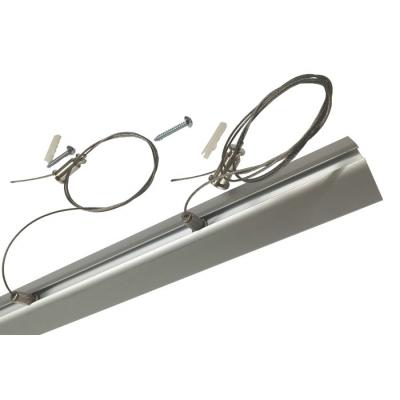 Závěsné lanka délky 1m profilu C30 a svítidla LINIE 2ks