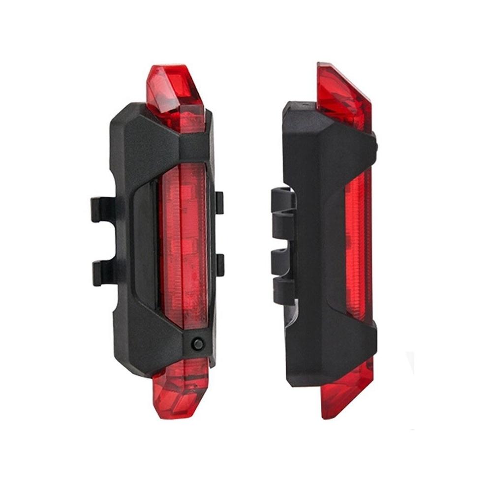 LED blikačka nabíjecí USB RED