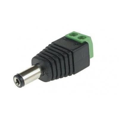 Napájecí DC konektor se svorkovnicí (samec)