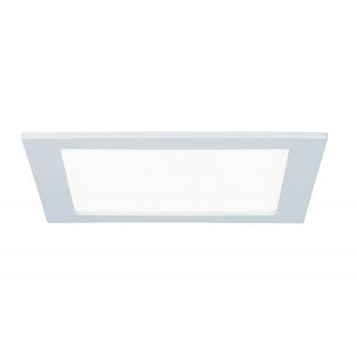 LED svítidlo podhledové bílé 18W IP44 čtverec denní bílá