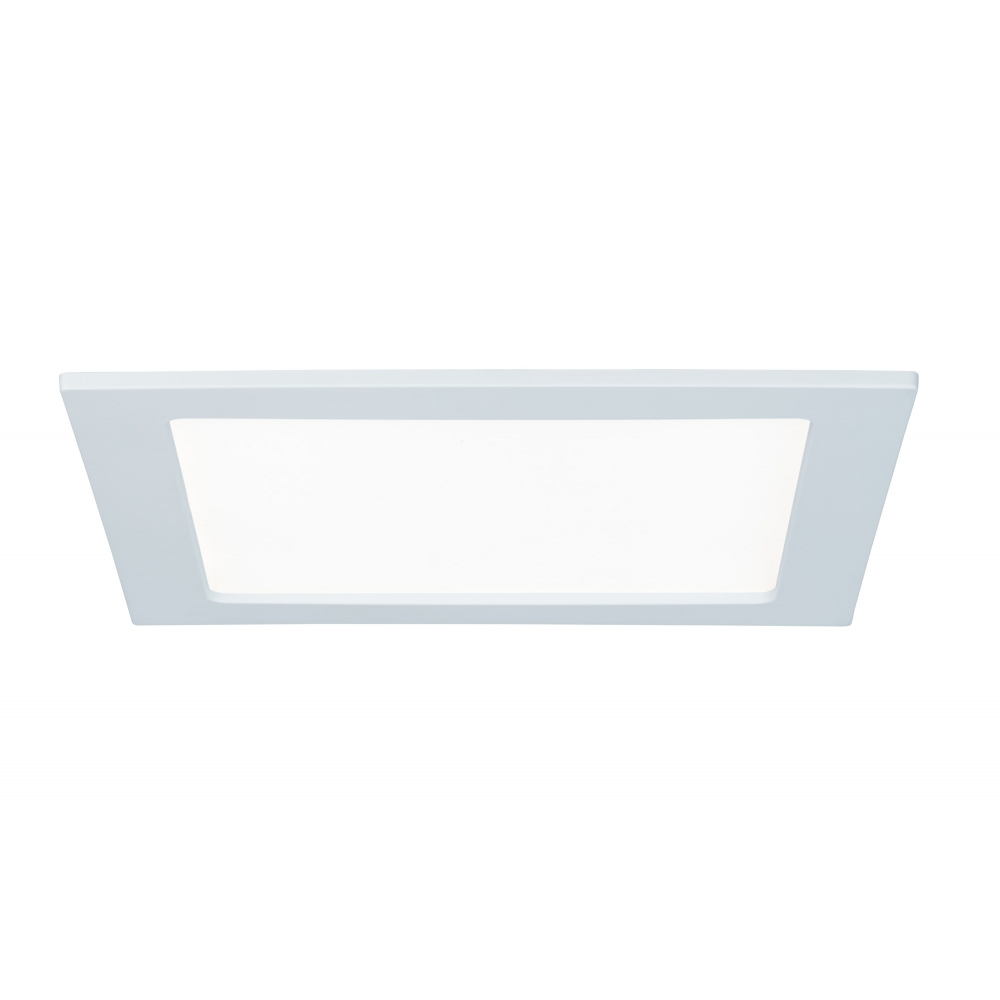 LED svítidlo podhledové bílé IP44 18W čtverec denní bílá