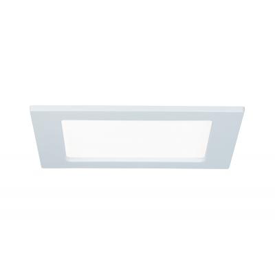LED podhledové svítidlo 12W IP44 Paulmann bílé hranaté